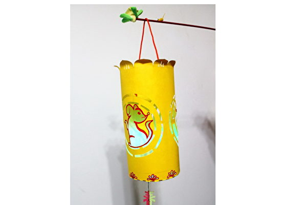 DIY元宵提燈:金鼠迎春