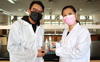 防堵武汉病毒扩散 中台研制干洗手凝露