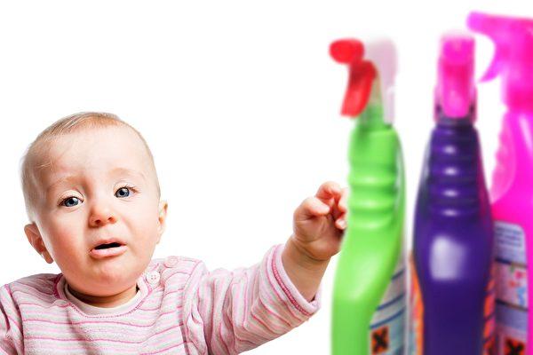 研究:家居清潔劑增加兒童哮喘風險