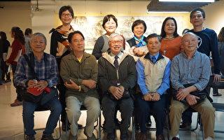 36岁习画 水墨画家邱垂智 青出于蓝胜于蓝