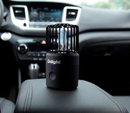 密閉的車內空間使用30分鐘即可殺菌消毒。