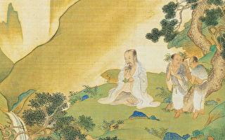 神农即炎帝,他不仅为政是帝王之圣贤,开创了农业、饮食文化,中医和中药也是他所奠基。图为神农氏像,出自明仇英《帝王道统万年图》(公有领域)