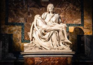 【藝術家小故事】米開朗基羅與《聖母悼子像》