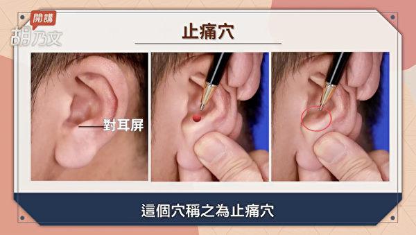 痛风发作的时候,按止痛穴可以立刻减轻疼痛。(胡乃文开讲提供)