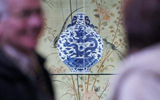 乾隆青花瓷寶月瓶:410萬歐元在法國拍賣