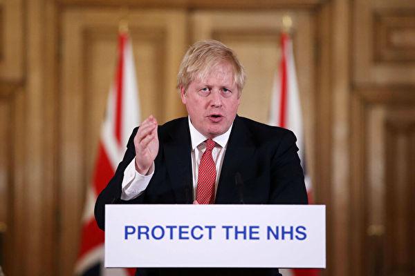 染疫隔离在家 英国首相致信国人