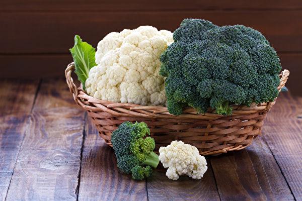 多吃花椰菜、青花菜,可以提升免疫力,等对呼吸道和肺的保健有直接好处。(Shutterstock)