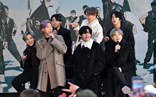 BTS登《深夜秀》 RM:疫情中以勇气与笑容连系