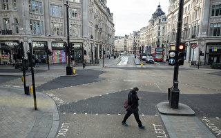 組圖:英國疫情蔓延 倫敦街頭空蕩蕩