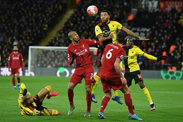 英超第28輪,利物浦客場0:3不敵沃特福德