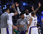 NBA:湖人連克兩強敵 七年後再進季後賽