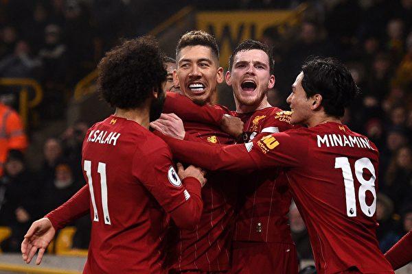 英超停擺 利物浦奪冠無異議 降級恐難確定