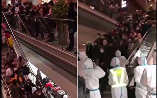 【現場視頻】聽信中共謊言 返京人擠爆機場