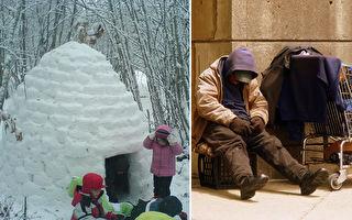 工程师设计保暖小屋送街友 让他们在寒冬中保命