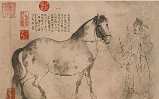 線條魔術家  白描大師李公麟和五馬圖