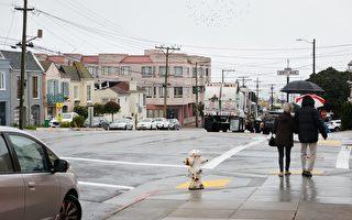 舊金山灣區週六將迎來降雨