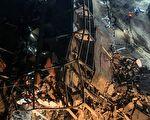 福建泉州新冠肺炎隔离点的欣佳快捷酒店发生坍塌事故。 (Photo by STR/AFP via Getty Images)
