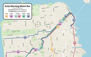 3月30日起舊金山Muni更改交通方式