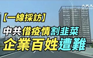【一线采访视频版】中共借疫情割韭菜