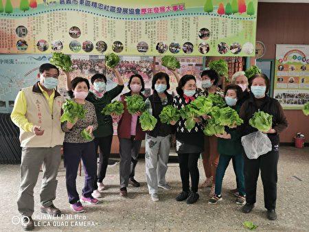 此次由东区精忠社区发展协会担任本次蔬菜配送服务窗口。