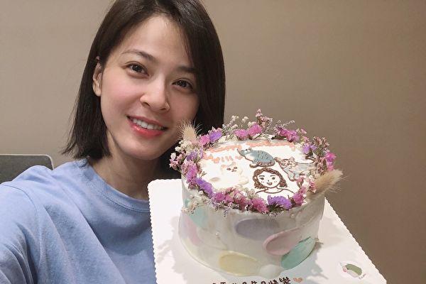 蘇晏霈今32歲生日 工作中慶生「覺得幸福」