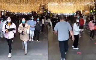 【現場視頻】武漢楚河漢街已人來人往
