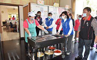 云林县长视察身障机构 了解防疫及应变措施