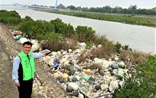 高美湿地惊现海漂垃圾堆 挨批太离谱