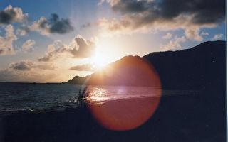 日夜交错的兰屿瑰丽海景