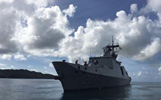 台敦睦舰队帛琉接触者48人 筛检结果全未感染