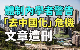 """【纪元播报】学者警告""""去中国化""""危机 文章遭删"""