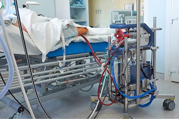 葉克膜(ECMO)是體外膜氧合的簡稱,又名體外生命支持系統、人工心肺。(Shutterstock)