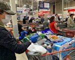 Costco限購瓶裝水和衛生紙等商品