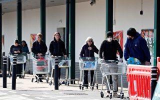 搶購高潮已過 英國部分超市取消限購