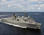 聖安東尼奧級登陸艦 第12艘「勞德岱堡號」下水
