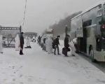 近日,在俄羅斯的數十名中國公民回國。(截圖)