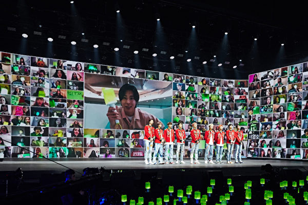 NCT 127线上演唱聚129国粉丝 允浩连线支持