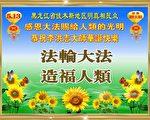 大陆民众感谢法轮功并祝李大师生日快乐