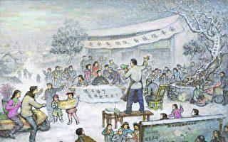 組圖:承載希望的繪畫 幫人度過奪命瘟疫