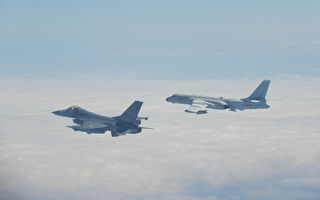 中共軍機4天4進台灣空域 4度被驅離