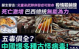 【疫情最前線】五毒俱全?中國爆多種古怪病毒