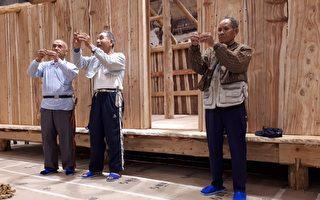 兰博儿童考古厅  重现噶玛蘭族家屋传统工法