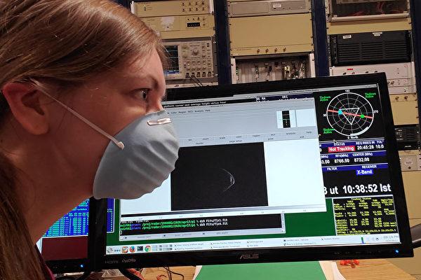 小行星趕流行 「戴口罩」飛掠地球