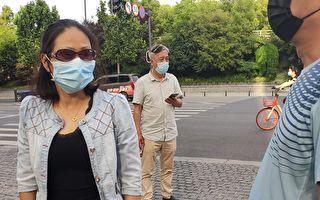 【一线采访】武汉女子接受外媒采访 遭拦截