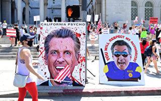 加州民主党人幕后连署支持罢免州长