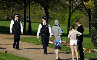 英国封城期间  警方开出上万张罚单