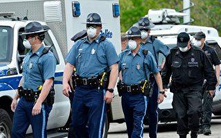 麻州执行口罩法 警员向违者送口罩