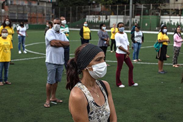 組圖:巴西疫情延燒 確診數破13萬