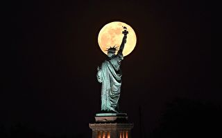 NASA:7月4日会出现雄鹿月和月偏食