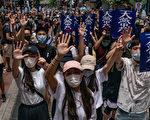 【更新】反国安法游行 逾百人被捕1女危殆